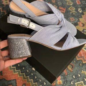 J. Crew Shoes - J.Crew Penny Sandal In Stripe